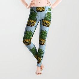 Pineapple French Bulldog Leggings