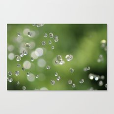 Going Green - One Drop At A Time Canvas Print