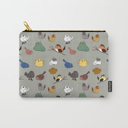 Flocks of a feather stay together (Grey) Carry-All Pouch