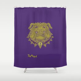 Omega Psi Phi Shower Curtain