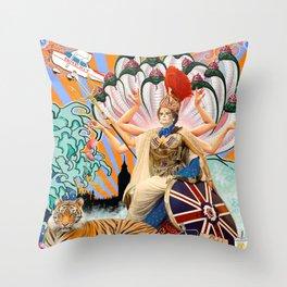 Britannia Throw Pillow
