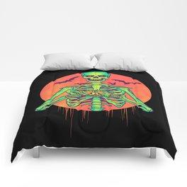 I Love Halloween Comforters
