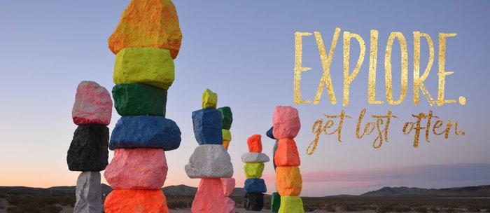 Explore. Get lost often. Coffee Mug