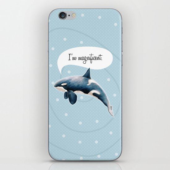 orcinus orca iPhone & iPod Skin