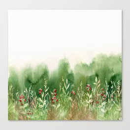 Strawberry Fields for an Indefinite Amount of Time Canvas Print