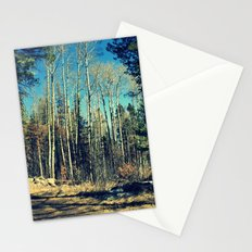 Aspens in Winter  Stationery Cards