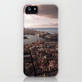 Valletta City Malta Aerial  iPhone Case