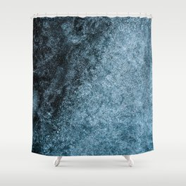 Blue Fade (Color) Shower Curtain