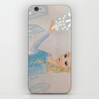 frozen elsa iPhone & iPod Skins featuring Elsa - frozen by Amana HB