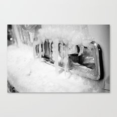 Stranded Bus Canvas Print