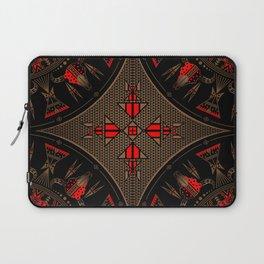 buffalo gathering Red Laptop Sleeve