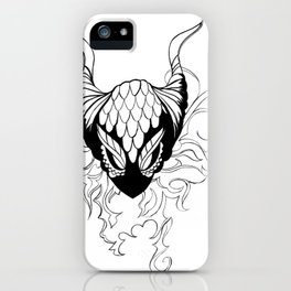 Dragon mask iPhone Case