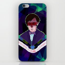 Never Give Up, Never Give In iPhone Skin