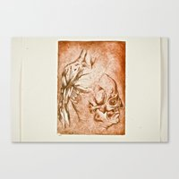 anatomy Canvas Prints featuring Anatomy by Hector Trend
