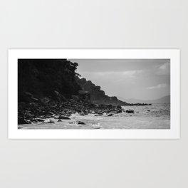 Tasmania East Coast Beach Art Print