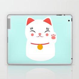 Lucky happy Japanese cat Laptop & iPad Skin