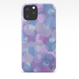 Pastel Pink and Blue Balls iPhone Case