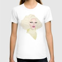 rupaul T-shirts featuring Pearl Liaison by KnoblArt