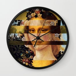 Leonardo Da Vinci'sMona Lisa & Botticelli's Venus Wall Clock