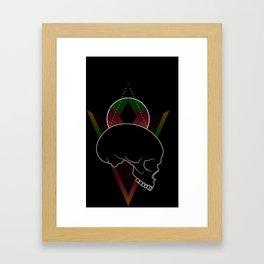 Pleasantly Strange Framed Art Print