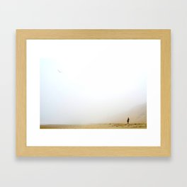 Dune Girl Framed Art Print