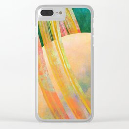 The Rings Of A Planet Clear iPhone Case