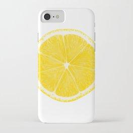 LOVE LEMON iPhone Case