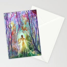 Dance of the Changing Leaves Stationery Cards