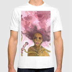 Macy Gray's Greatest Hits Mens Fitted Tee White SMALL
