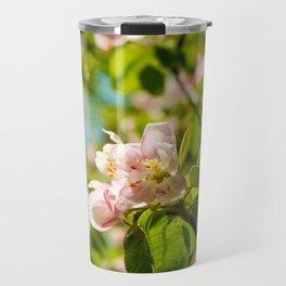 Apple Blossoms (1) Travel Mug