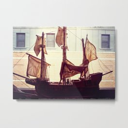 Clipper ship Metal Print