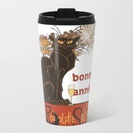 Bonne Annee Happy New Year Parody Travel Mug