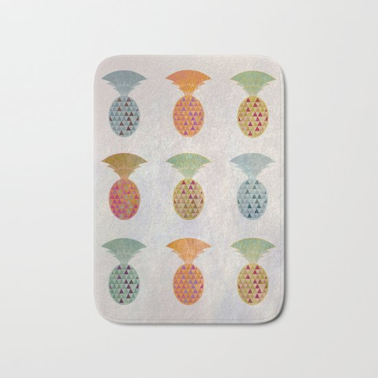 Ananas Jewels Bath Mat