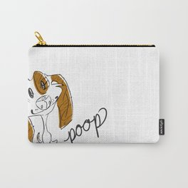Dirty Dishes Rated G-- Dog Carry-All Pouch