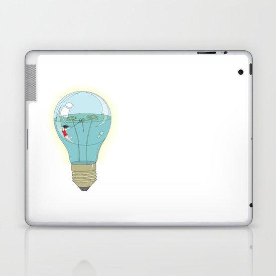 Life in a lightbulb. Day Laptop & iPad Skin