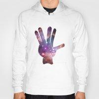 nebula Hoodies featuring Nebula by mailboxdisco