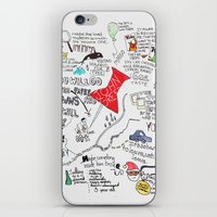 paper towns iPhone & iPod Skins featuring Paper towns, John Green by Natasha Ramon