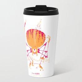 A is for Alien Travel Mug