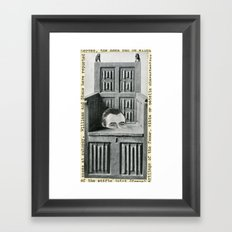 Hello There Framed Art Print