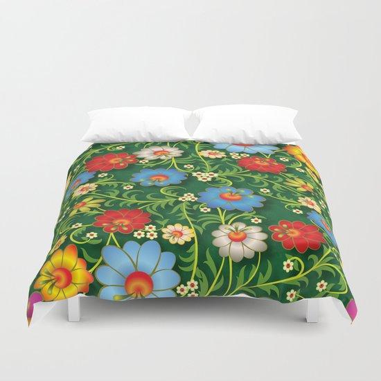 Shabby flowers #16 Duvet Cover