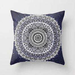 Indian mandala Throw Pillow