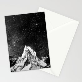 mont gore - mountain and star Stationery Cards