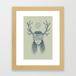 Carcosa Framed Art Print