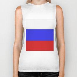 Russia flag Biker Tank