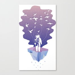 Another Astronaut Canvas Print