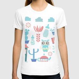 Travel pattern 3vb T-shirt