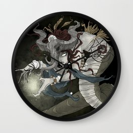 The sea witch Wall Clock