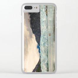 Margerie Glacier Clear iPhone Case