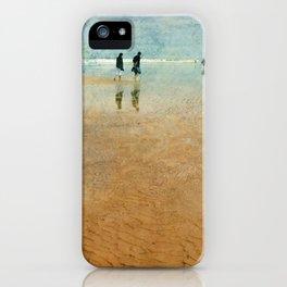 Beach Walkers iPhone Case