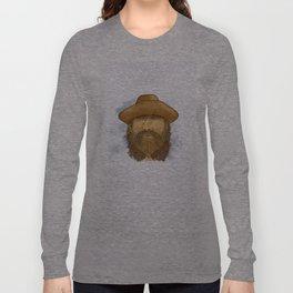 Flynt Locke, Cowboy Mountain Man Long Sleeve T-shirt